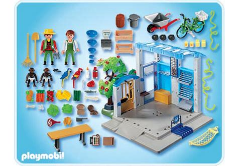 playmobil cuisine feeding station 4461 a playmobil