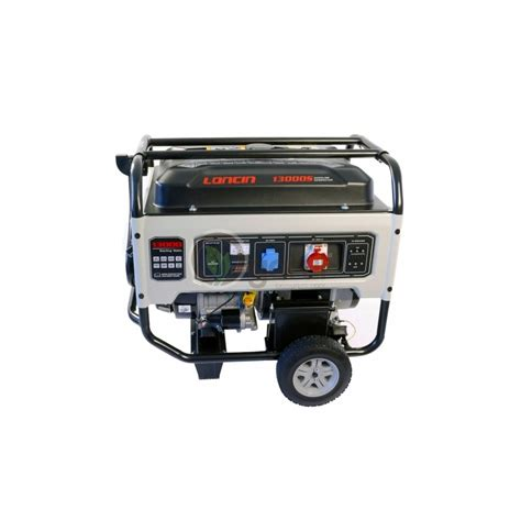 Motor Trifazic 4 Kw Pret by Generator De Curent Lc13000s Loncin Trifazic Putere 10