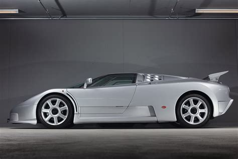 It was the only production model made by romano artioli's italian incarnation of bugatti. Auction Block: 1994 Bugatti EB110 SS   HiConsumption