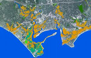 Sea Level Affecting Marshes Modeling