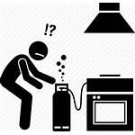 Icon Gas Leak Precaution Safety Hazard Leaking