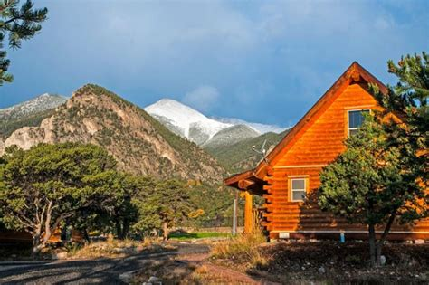 cabins for rent mt mount princeton springs resort colorado