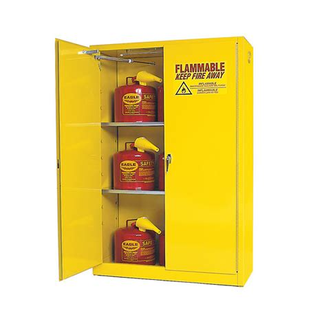 flammable liquid storage cabinet canada flammable storage cabinet self closing doors 45 gallon