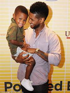 Usher's son, 5, rushed to intensive care after pool ...