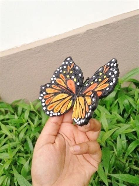 a beautiful quilled butterfly quilling butterfly