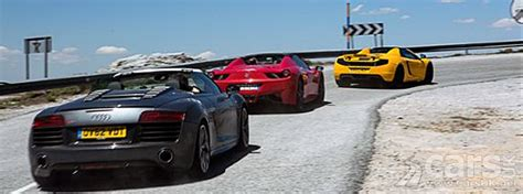 Browse the pictures and technical data sheets with all the details of the design and performance of ferrari models. Top Gear Tonight: McLaren 12C, Ferrari 458, Audi R8 V10 Convertibles & Benedict Cumberbatch ...