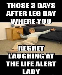 Leg Day Meme #Lady, #Life   MEMES & COMICS   Pinterest ...