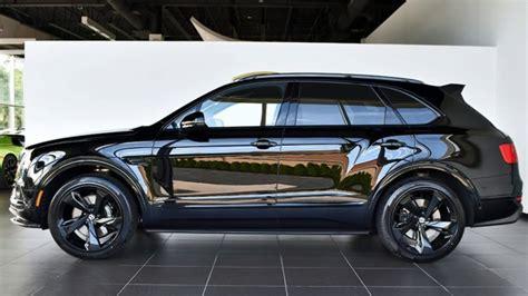 Bentley Bentayga Photo by New 2018 Bentley Bentayga Black Edition