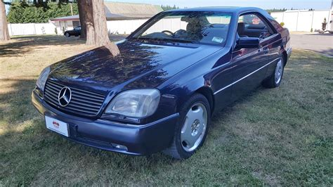 This v12 powered brute isn't done consuming cash from its keepers (you don't own a car like this, you sort of keep it from harm for a few years and shuttle it from dealer to dealer for repairs). 1995 Mercedes S600 V12 Coupe | Waimak Classic Cars