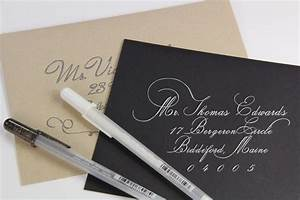 diy calligraphy roundup wedding the road and hands With fake calligraphy wedding invitations