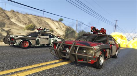 Gta Online's Gunrunning Update Introduces Arms Trafficking