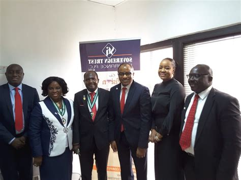 Get a fast quote & save online. Photo: ICAN President visit Sovereign Trust Insurance corporate head office in Lagos - inspenonline
