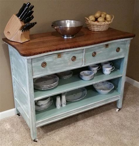 turn dresser into kitchen island 46 best images about upcycle furniture into a kitchen 9496