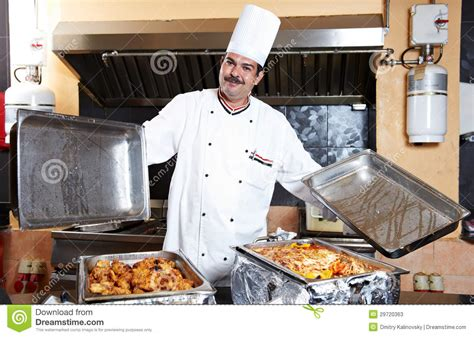 arab chef  food  restaurant hotel stock  image
