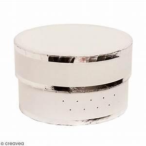 Boite Cadeau Ronde : bo te cadeau ronde couvercle blanc bords argent s 17 ~ Teatrodelosmanantiales.com Idées de Décoration