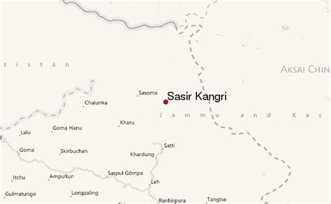 Sasir Kangri Mountain Information
