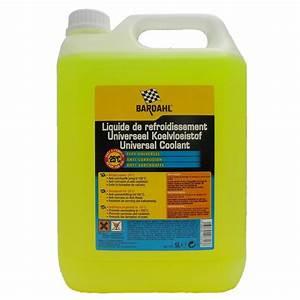 Liquide De Refroidissement Symbole : liquide de refroidissement bardahl 5 litres 25 huiles lubrifiants ~ Medecine-chirurgie-esthetiques.com Avis de Voitures