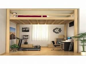 Lit 2 Places Ikea : lit mezzanine but 2 places ides ~ Teatrodelosmanantiales.com Idées de Décoration