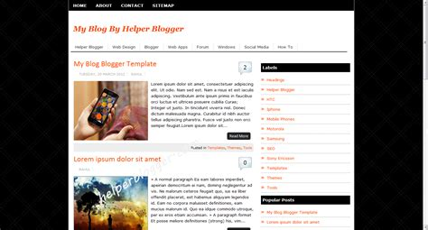 Blogger Templates Professional