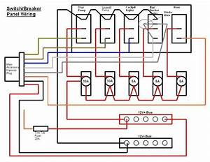 Switch  Breaker Panel Wiring Diagram