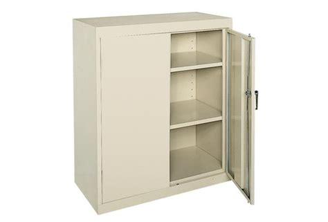 Small Locking Metal Cabinet