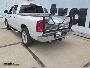 2004 Dodge Ram Pickup Stromberg Carlson 100 Series 5th Wheel Tailgate With Open Design For Dodge