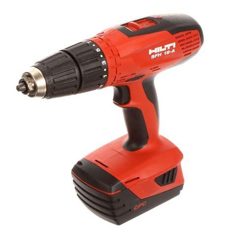 hilti akkuschrauber 18v hilti sfh 18 a 18 volt cordless hammer drill driver tool tool only products cordless