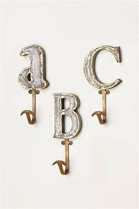 Marquee letter hook anthropologiecom for the home for Marquee letter hook