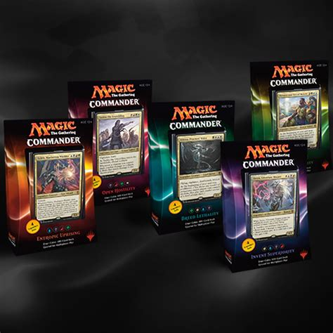 Preconstructed Commander Decks 2011 by Four Color Commanders Finally Mtgeezer