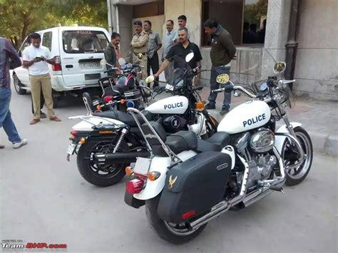 Gujarat Police To Ride Harley-davidsons