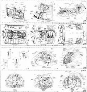 Apollo Command Module Blueprints (page 2) - Pics about space