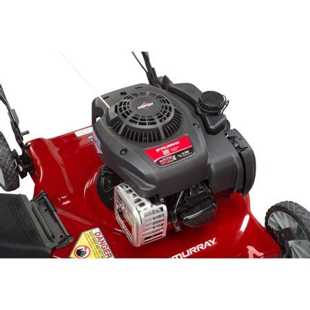 murray  cc gas powered side discharged push lawn