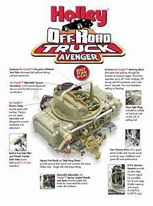 Holley Truck Avenger Carburetor Review