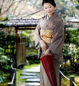 Moderne Japanische Kleidung : japanese woman wearing kimono stock photo image of japan ~ Watch28wear.com Haus und Dekorationen