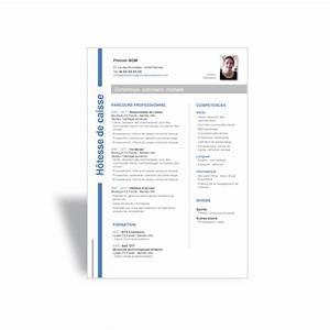 Hotesse De Caisse Lyon : exemple mod le cv moderne h tesse de caisse cv word ~ Dailycaller-alerts.com Idées de Décoration