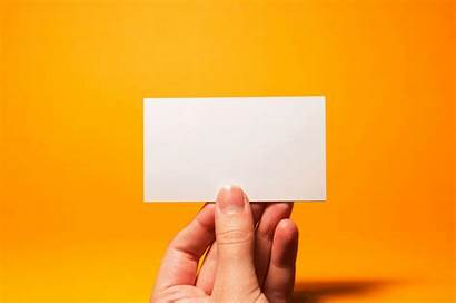 Blank Card Business Cards Creative Entirely Bored