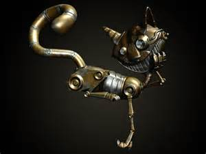 mechanical cat steam mechanical cat by m1kes on deviantart