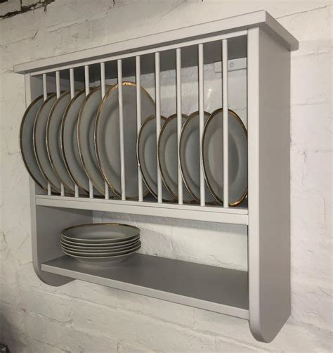 plate rack   burford rack  wall mounted plate rack