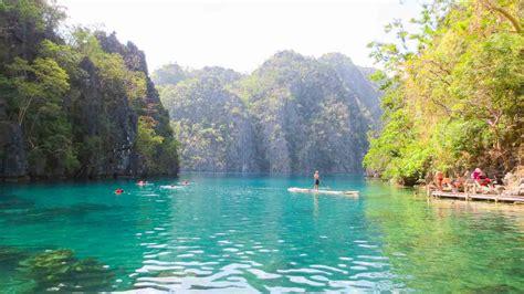 Things To Do Raft Rides In Kayangan Lake Getting Stamped