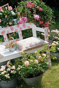 Vintage, Garden, Decor, Ideas