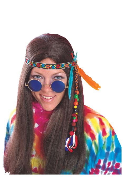 feather headband adult hippie costume accessories