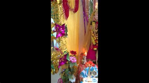 gauri pooja decoration theme youtube