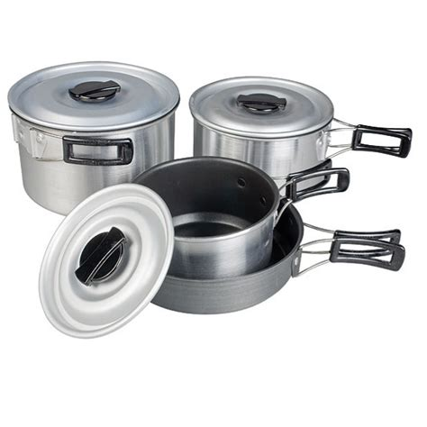 camping stick non saucepan cook kampa pans stacking munch cooking compact camp cookware caravan pots pan cucina hob grill gas