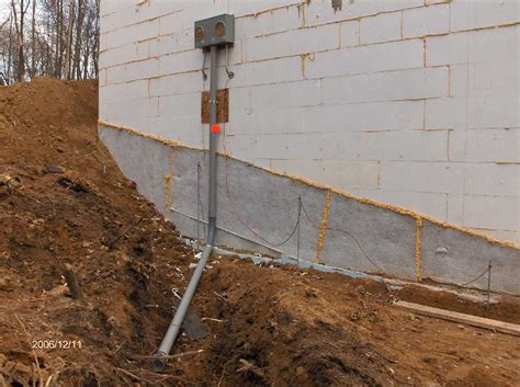 electrical meter and panel installation 2 for stehr house
