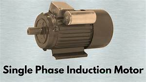 Construction And Working Principle Of Induction Motor