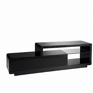 Meuble Tv Noir Ikea : meuble tv pas cher ~ Teatrodelosmanantiales.com Idées de Décoration