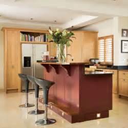 kitchen island bar ideas kitchen with split level island unit kitchen design housetohome co uk