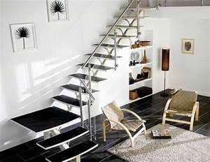 Escalier Bois Intérieur : photos escalier interieur moderne meilleures images d ~ Premium-room.com Idées de Décoration