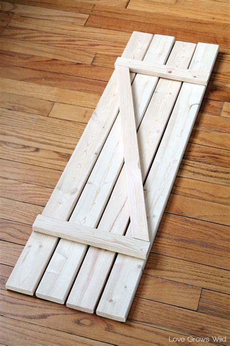 How To Make Barn Wood by Diy Barn Wood Shutters Grows