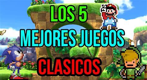 Los mejores juegos clásicos antiguos de nuestra infancia de los años 80 y 90. TOP 5: Mejores Juegos Clásicos (De La Infancia) By Beast Auditore - YouTube